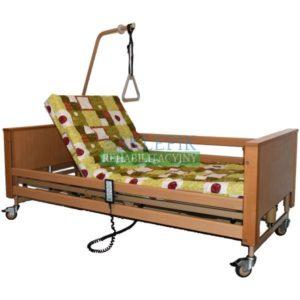 Łóżko rehabilitacyjne elektryczne Burmeier Arminia + materac gofrowany w pokrowcu bawełnianym 12 cm