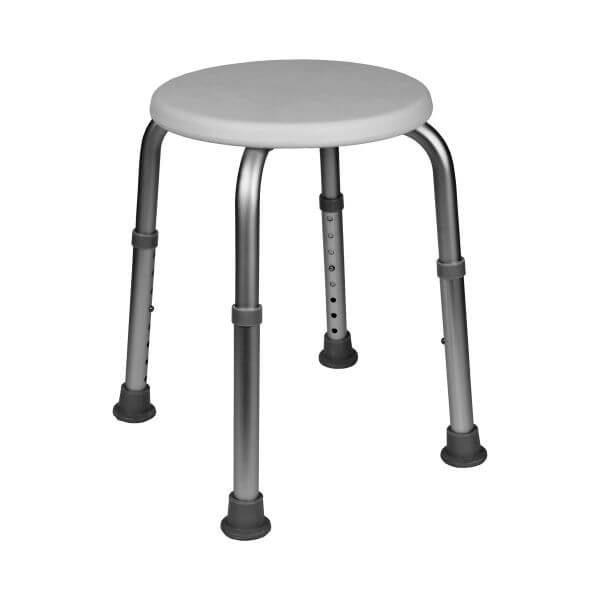 stołek pod prysznic okrągły Mobilex