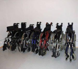 wózki inwalidzkie standardowe
