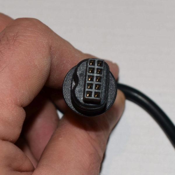 Wtyczka 8 pinów od pilota linak do łóżek rehabilitacyjnych Burmeier