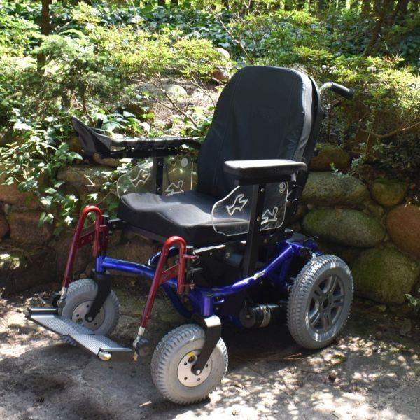 wózek inwalidzki elektryczny Forest 2 Vermeiren